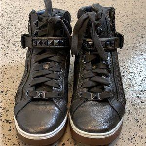 Michael Kors sneakers in gunmetal gray